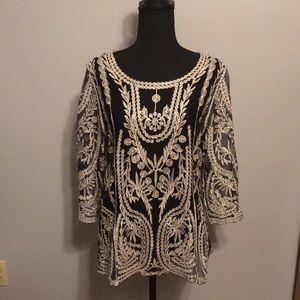 Shimmer blouse